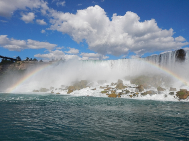 rainbow american falls
