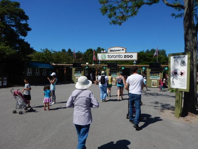 Entrada al Toronto Zoo