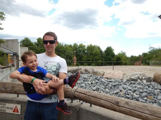 Jirafas en el Toronto Zoo