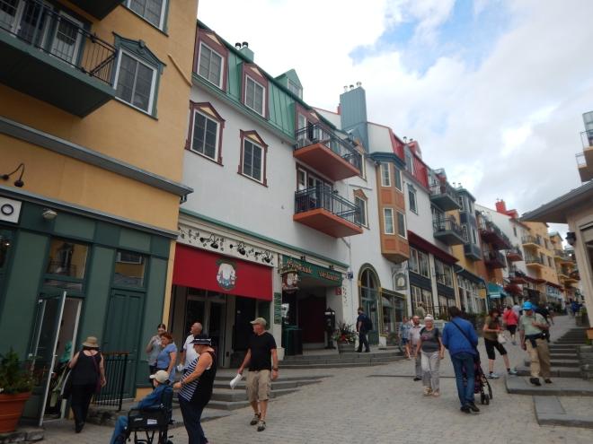 Zona peatonal de Mont-Tremblant Resort