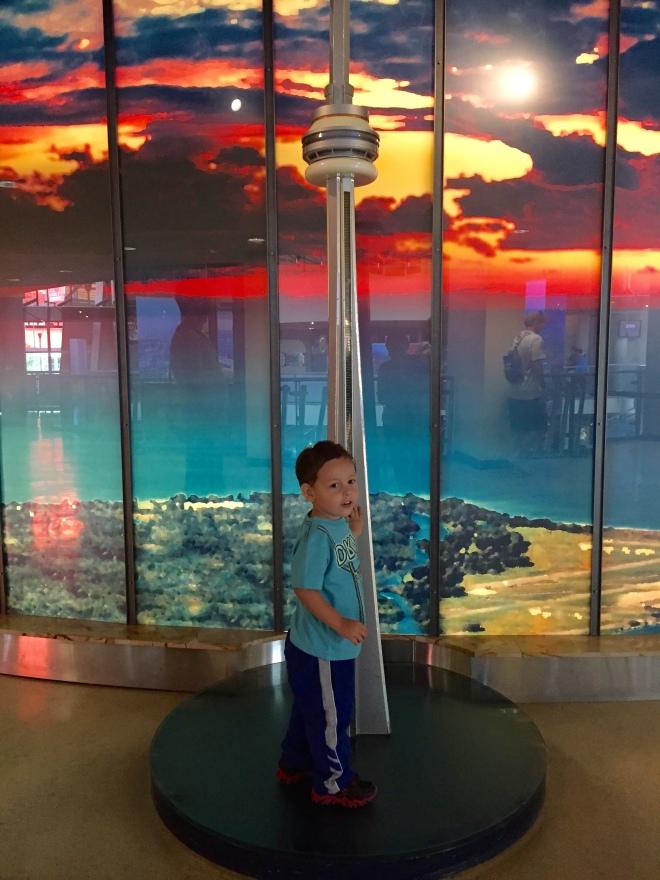 ¡Esta torre sí está de mi tamaño!