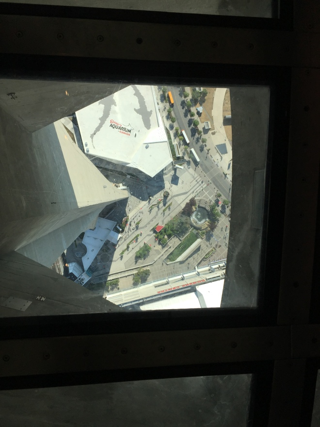 El Glass Floor de la CN Tower