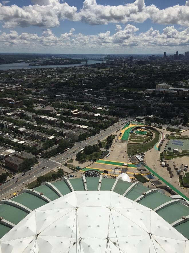 Vista desde lo alto dela Torre de Montreal