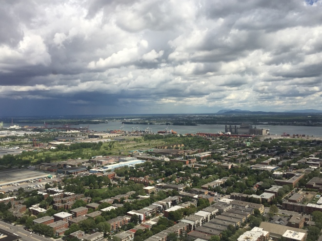 Vista desde La Tour Montreal