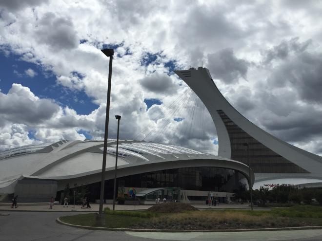 El Biodome y el Estadio Olímpico