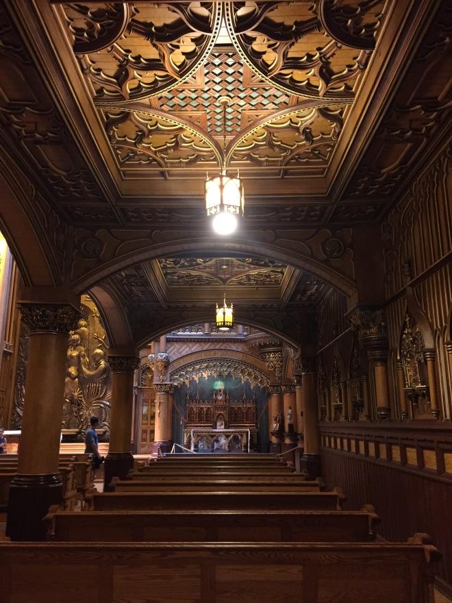 Interiores de Notre-Dame