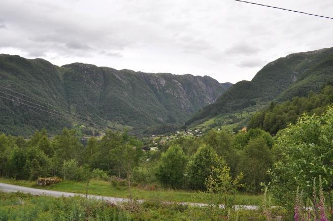 Un poblado escondido en el valle