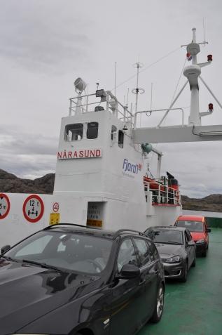 Ferry a Ytre Solund