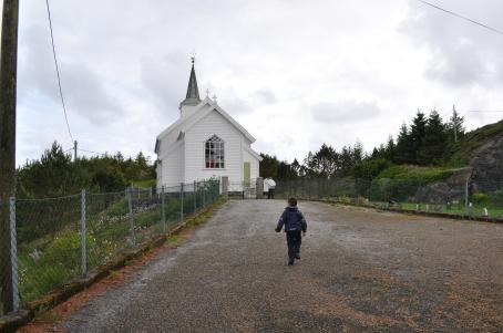 Iremos a visitar la iglesia
