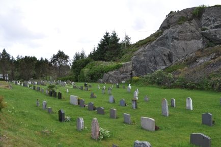 Cementerio a lado de la iglesia