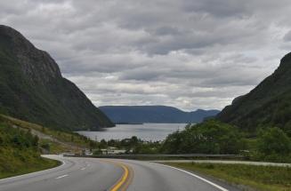 Carreteras en Noruega